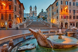 Spanish Steps_International Nanotechnology and Nanomedicine Confernece_ Italy